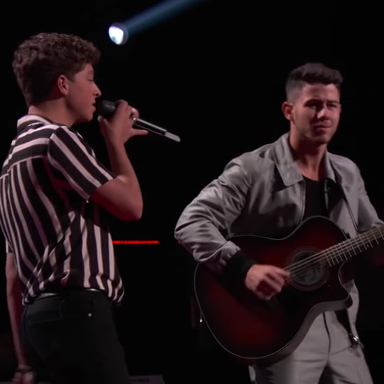 "Tate Brusa and Nick Jonas Sing ""Perfect"" on The Voice Video"
