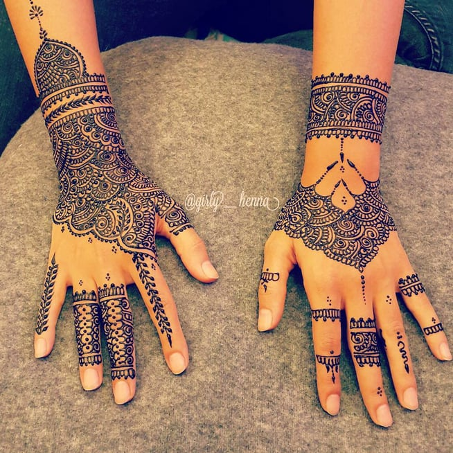 Bridal Henna Time ماشاءلله A Video Posted By The Queen S Henna