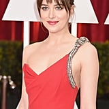 Dakota Johnson at the 2015 Oscars