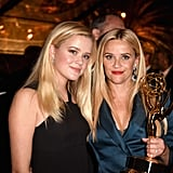 You'll Have a Hard Time Telling Reese and Daughter Ava Apart at This Emmys Party