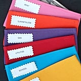 Simple Envelopes in Various Colors