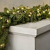 Fresh Cut Noble Fir and eucalyptus Garland ($79-$89, originally $99-$109)