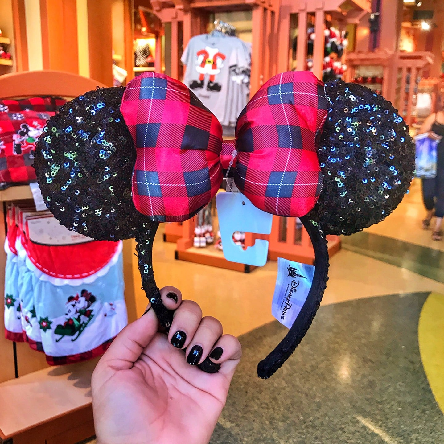 disney christmas mickey ears popsugar family