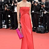 Inès de la Fressange at the Cannes premiere of Jeune & Jolie.