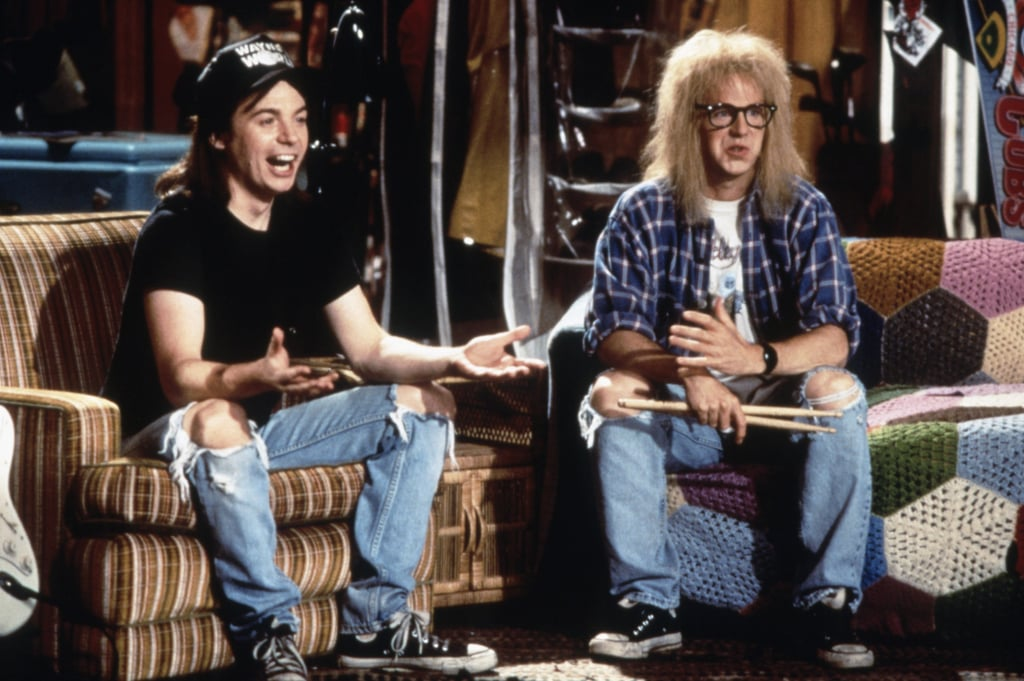 Wayne and Garth From Wayne's World: The Inspiration