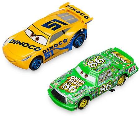 Disney Dinoco Cruz Ramirez and Chick Hicks Die Cast Twin Pack — Cars 3