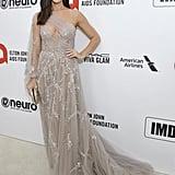 Ashley Greene at the 2020 Elton John AIDS Foundation Academy Oscars Party