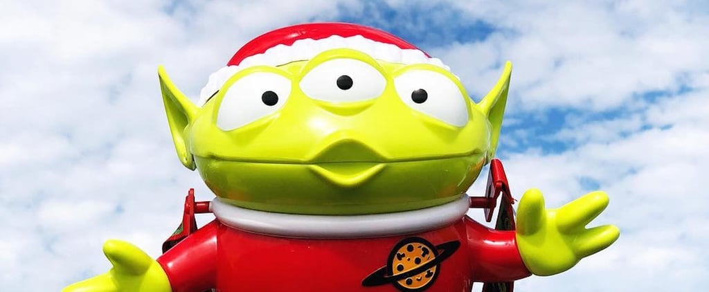 Disney Toy Story Alien Santa Popcorn Bucket