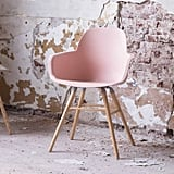 Ella James Scandinavian Blush Pink Dining Chair