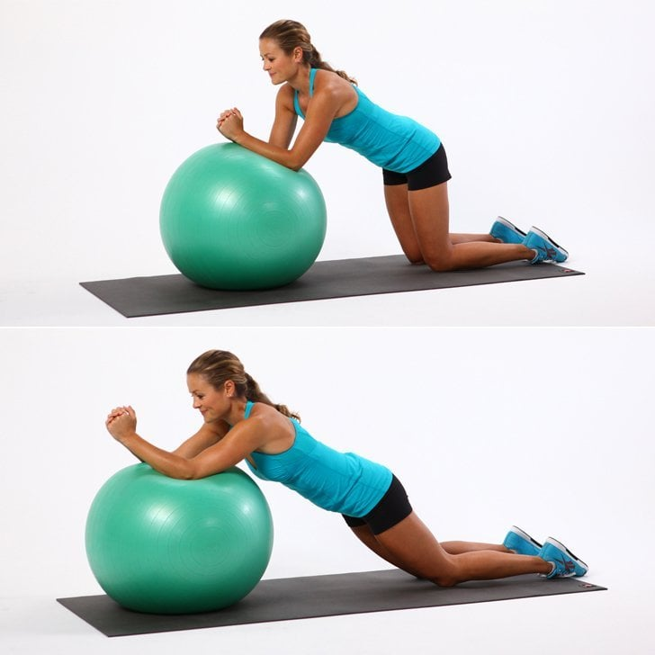 Ball Push-Aways | How to Make Your Core Muscles Stronger ...