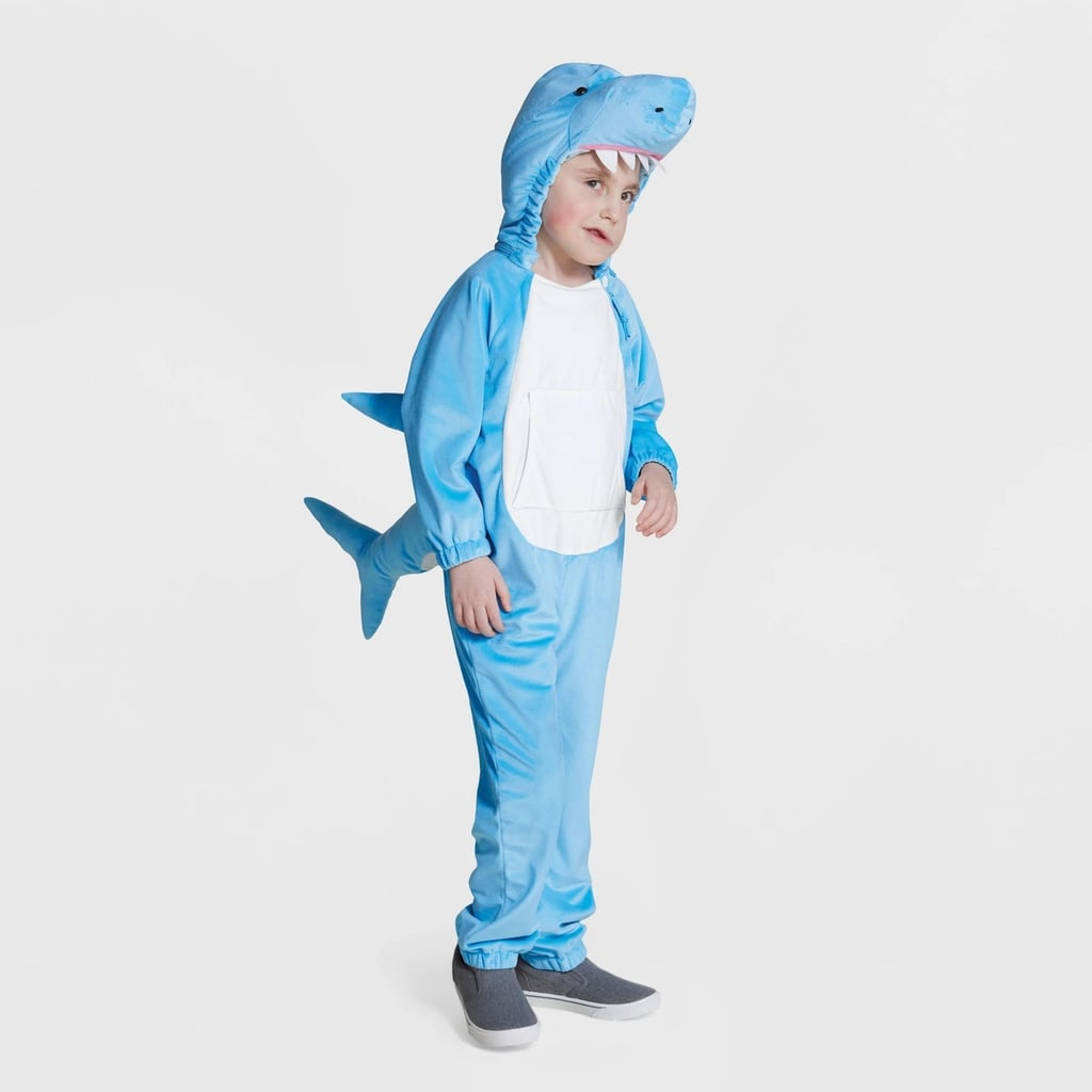 Kids' Plush Adaptive Shark Halloween Costume