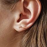 Sansoeurs Orchid Rose Gold Earring