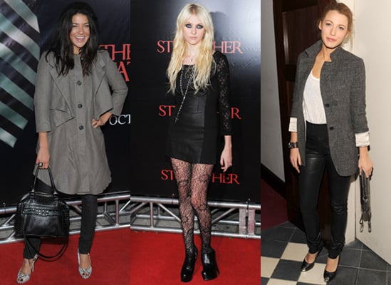 Photos of Blake Lively, Taylor Momsen and Jessica Szohr at Stepfather Premiere in NYC