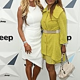 New The Real Housewives of Melbourne recruits Gamble Breaux and Pettifleur Berenger brightened up the media wall.