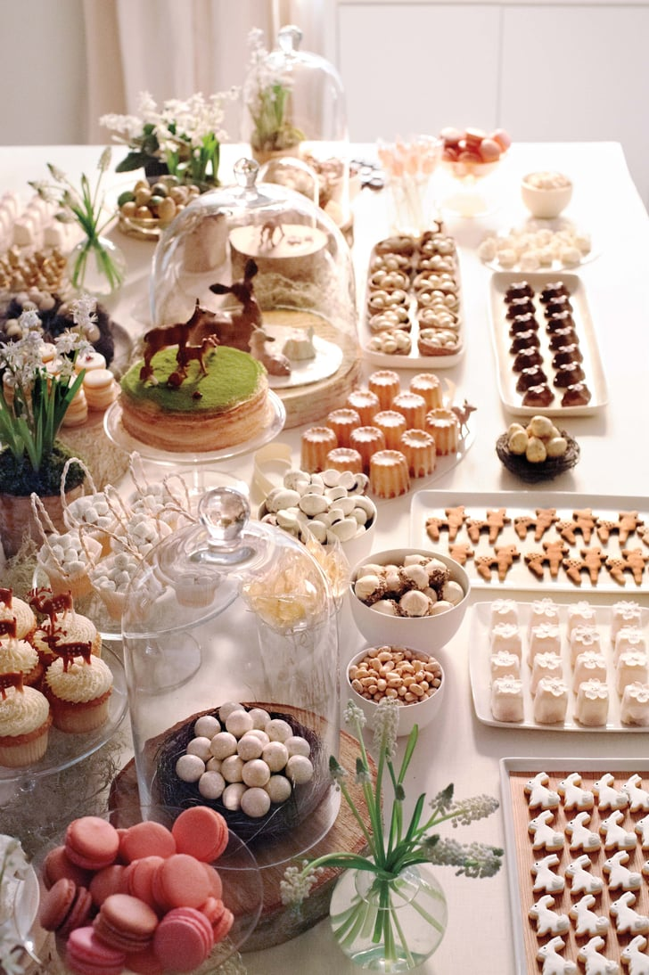 The dessert table a sweet and sophisticated woodland for La table a dessert