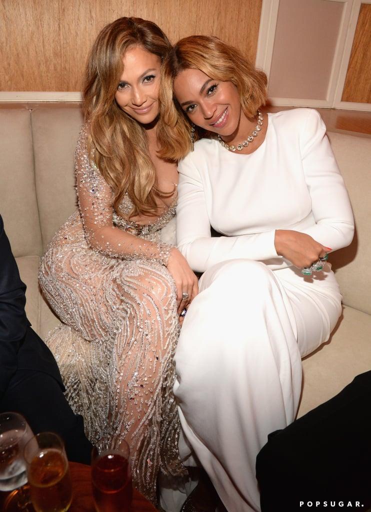 Jennifer Lopez and Beyoncé