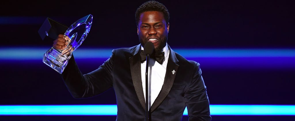 Kevin Hart Uses His PCAs Speech to Thank All of His Many Costars —Except Dwayne Johnson
