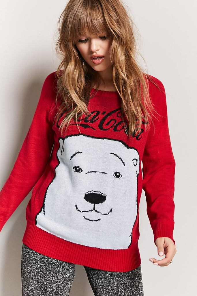 Forever 21 Coca-Cola Holiday Sweater | Ugly Christmas Sweaters ...