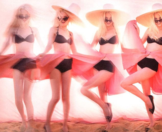 """Tying in with the new branding of Dior Addict: Be Iconic, the three Dior Addict perfumes have undergone a makeover, with Dutch teen Daphne Groeneveld being announced as the new face of the trio. In a series of teasers shot by Jonas Akerlund, we see Daphne and her famous pout looking flirty and fabulous on the beach and in the streets of Saint Tropez. Ooh la la! Her """"smouldering sensuality combined with irresistible lightness"""" are definitely the perfect choice to inject some fun energy into the classic scents which also have new names: Addict Eau de Parfum (blue bottle), Addict Eau Fraîche (pink bottle) and Addict Eau Sensuelle (lavender bottle). See the campaign imagery and some stills of the teaser videos now."""