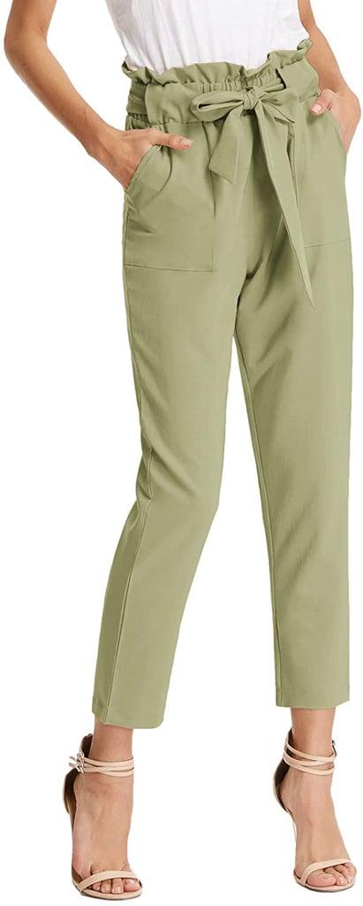 The Perfect Paper-Bag Pants