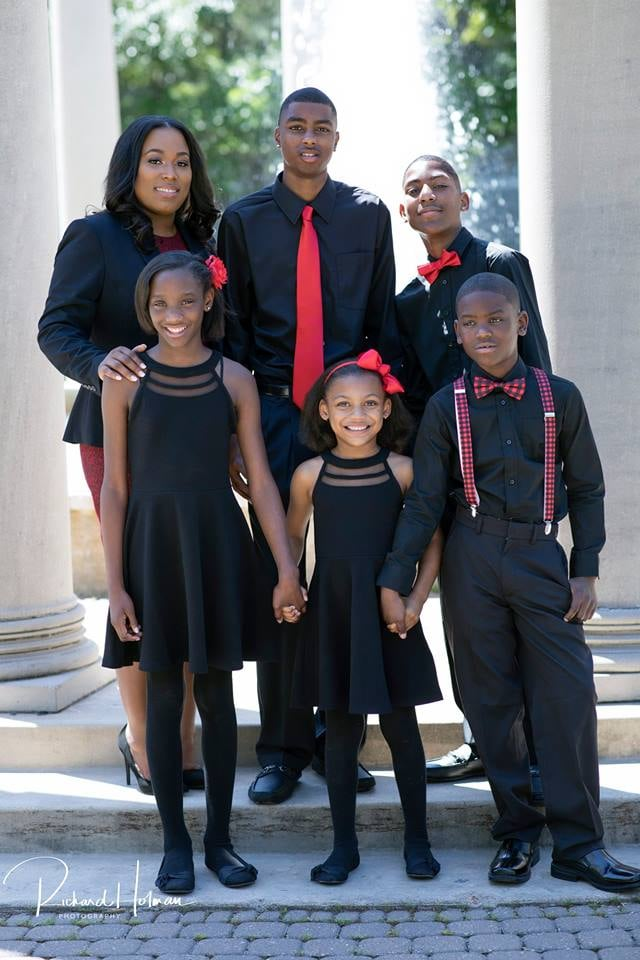 Image result for Be Inspired! Single mom of five graduates from Law school (photos)