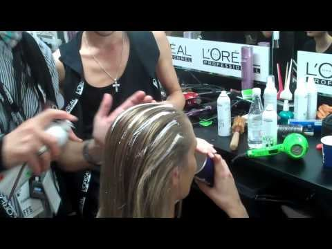 LMFF Runway 2: Backstage With L'Oreal Professionnel's Brad Ngata