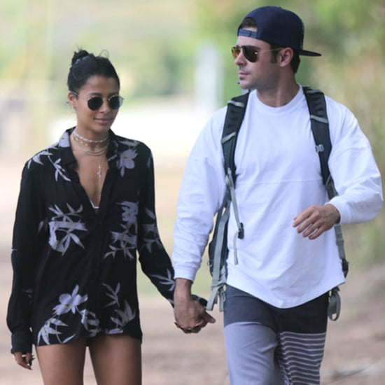 Zac Efron and Sami Miro in Hawaii 2015 | Pictures
