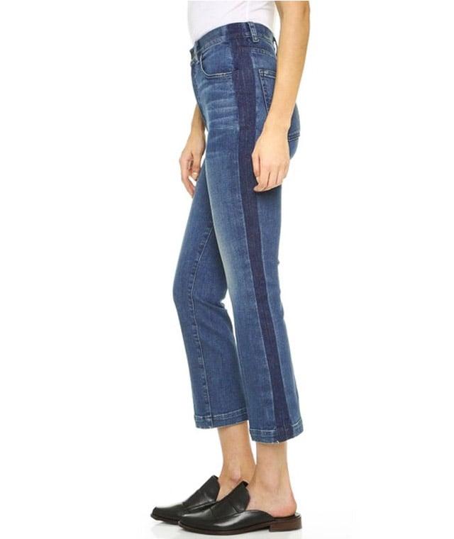 Rachel Comey Cropped Tux Jeans ($345)