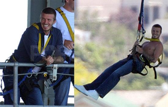 Beckham Bungee Jump