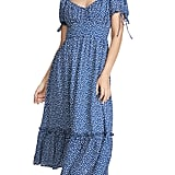 Moon River Blue Dot Dress