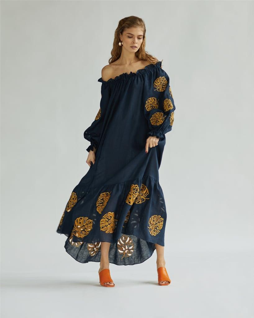 Leep The Bali Off-the-Shoulder Black Dress