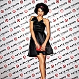 How cute was Lily Kwong in this bow-front strapless LBD in the just-released Kate Young For Target campaign?