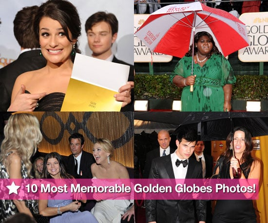 10 Memorable Golden Globes Photos!