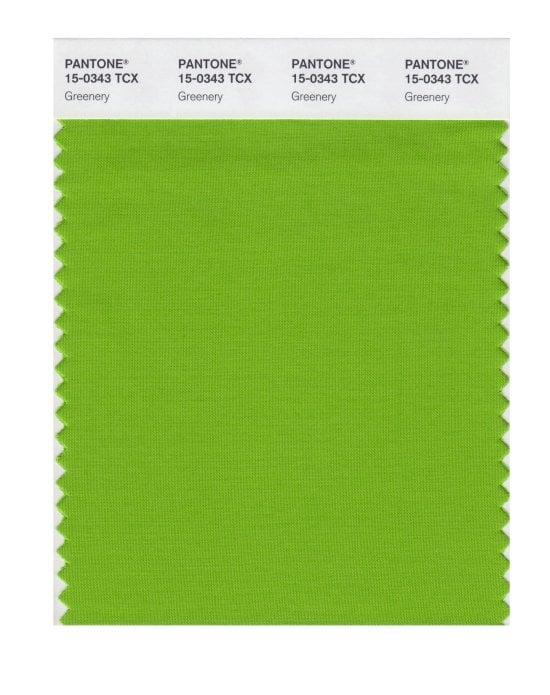 Do You Like Pantone's Color of 2017 Greenery?