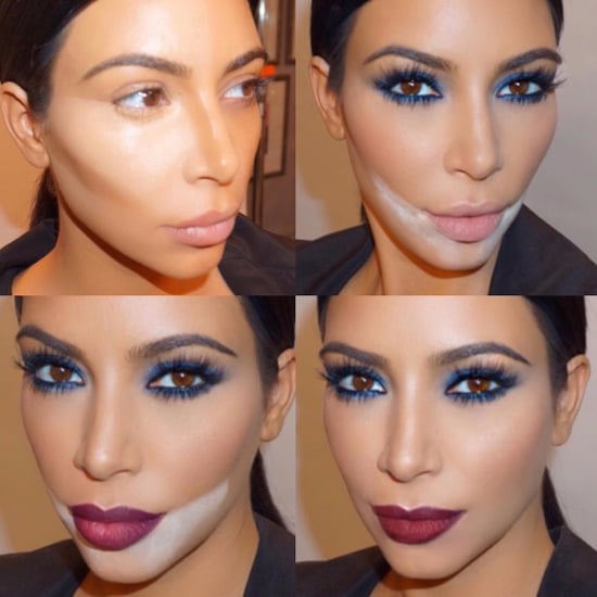Kim Kardashian Makeup Baking Trend