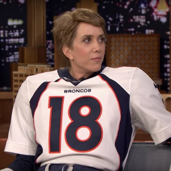 Kristen Wiig as Peyton Manning Tonight Show Video