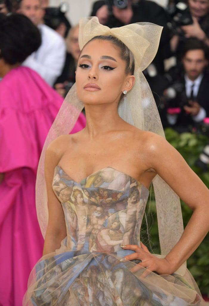 Ariana Grande Met Gala Dress 2018
