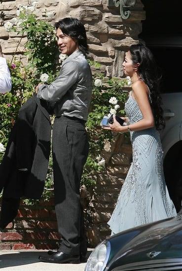 Milla Jovovich wedding pics