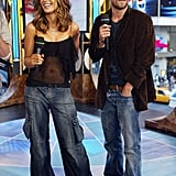 Kate Beckinsale appeared on TRL with Scott Speedman in 2003.