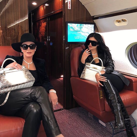 Kylie Jenner and Kris Jenner Wearing Matching Outfits