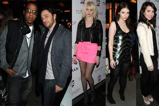 Photos of Jay-Z, Taylor Momsen, Michelle Trachtenberg, Zach Braff at TopShop Balthazar Launch Party