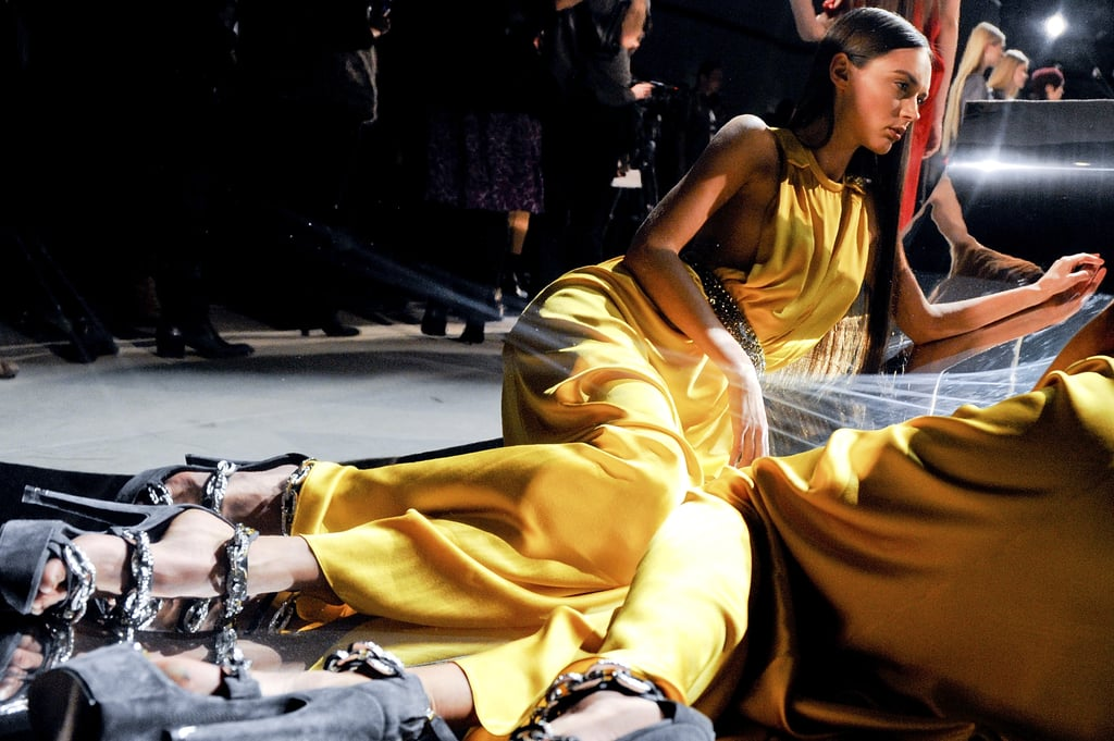 Marios Schwab Shows Off His First Outing at Halston for Fall 2010