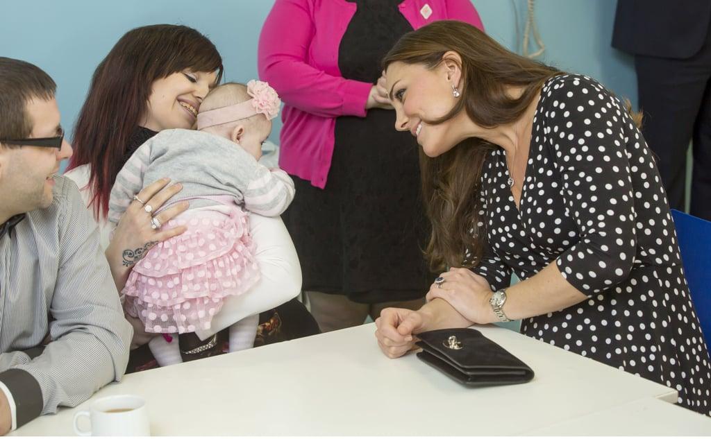 Kate Middleton Visits Brookhill Children's Centre