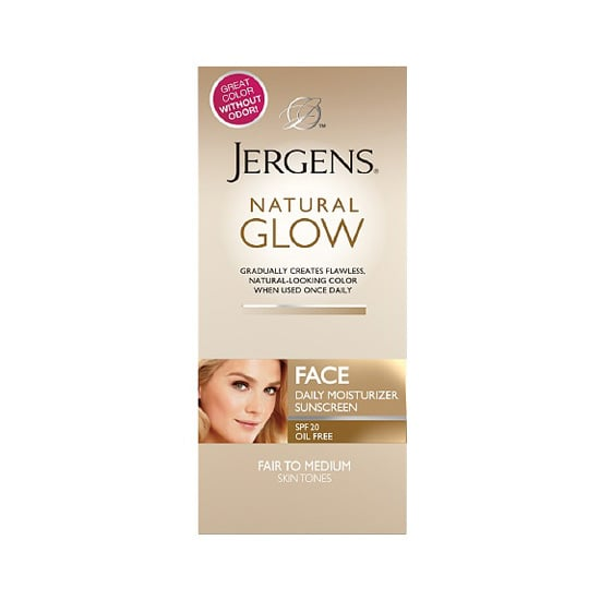 Jergens Natural Glow Healthy Complexion Daily Facial Moisturizer SPF 20 ($10, originally $11) provides sun protection and buildable color without the telltale smell of self-tanner.