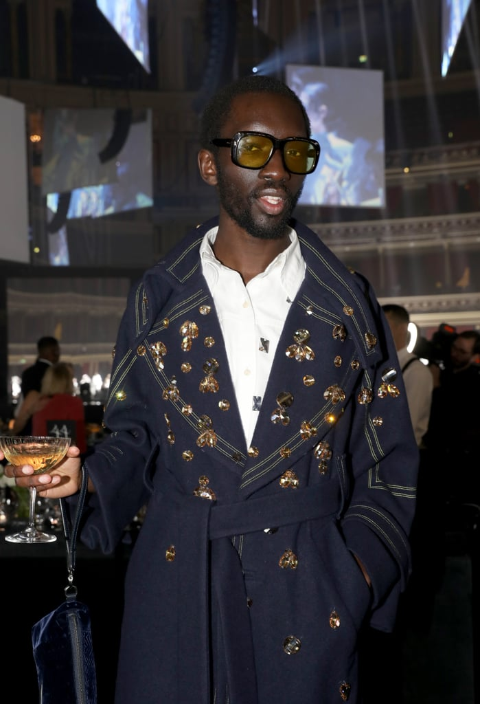 Wilson Oryema at the British Fashion Awards 2019 in London