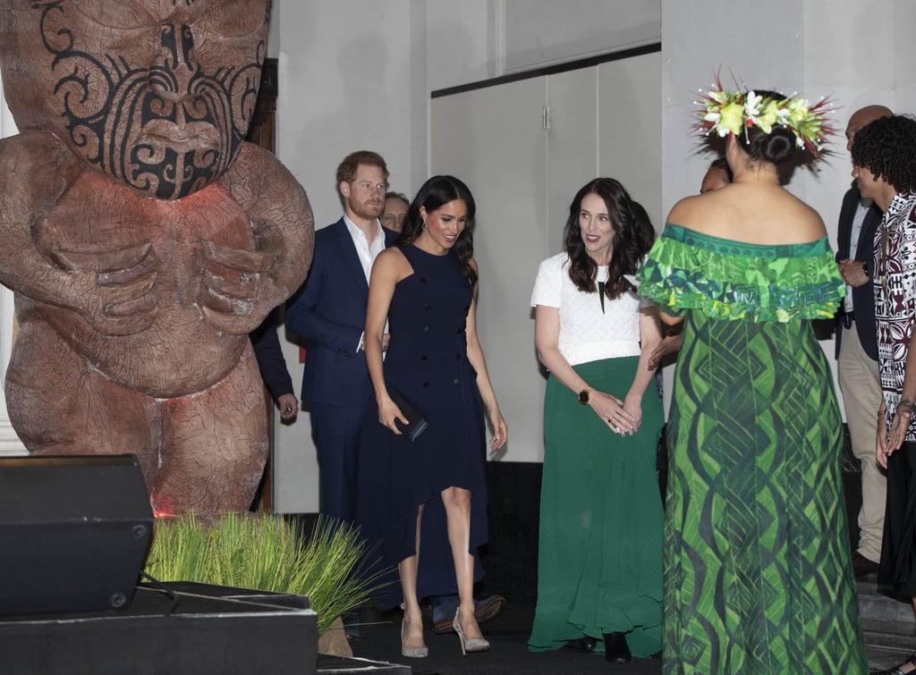 Meghan Markle's Antonio Berardi Dress October 2018