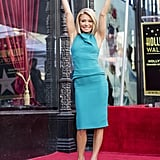 Kelly Ripa Hollywood Walk of Fame Pictures