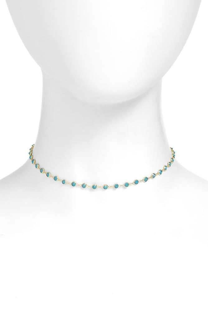 Pocahontas: Adina's Jewels Synthetic Turquoise Choker Necklace