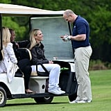 Zara Phillips and Mike Tindall PDA Pictures