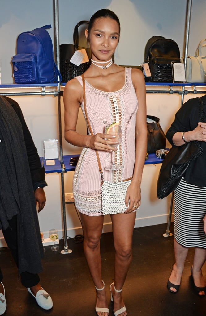 """Lais Ribeiro was ready to show off her Summer style Tuesday at a party in London. The Brazilian model wore an emerging Summer trend, crochet, while attending the launch of the Bottletop shop on London's Regent Street. Bottletop, a philanthropic fashion line established by the founder of Mulberry and his son, announced last Fall that Lais was the new face of its brand.  The piece was actually made just for Lais. On Instagram, she shared a short video of the knitwear designer Bertie Cotterell at work on the dress. Bertie returned the social media love with a snap from the party, where he sent """"huge epic insane loves"""" to Lais for wearing his design.  Lais's fashionable night out in the United Kingdom comes on the heels of her visit to France, where she stunned in a series of chic dresses at the Cannes Film Festival. Lais, a Victoria's Secret Angel, is no stranger to a statement look on a night out — and her adventures in London were no exception."""